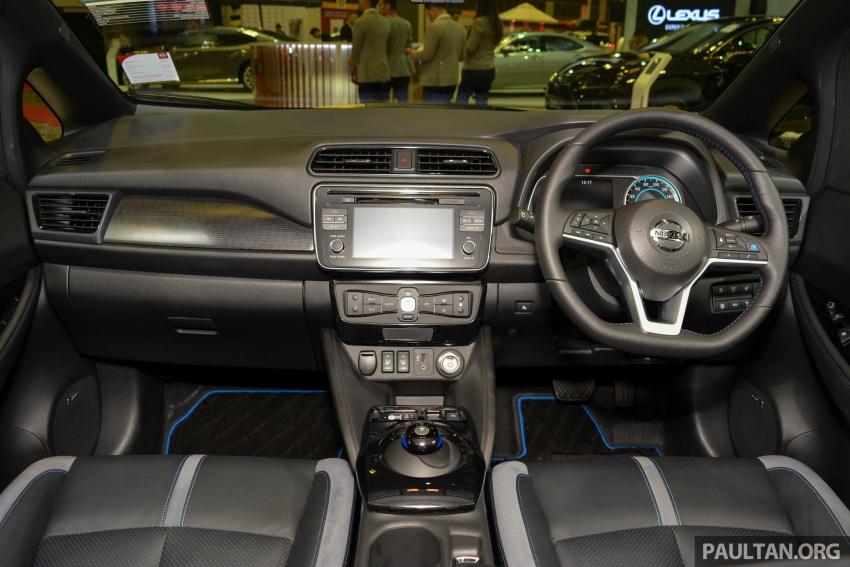 GALERI: Nissan Leaf 2018 dipamerkan di Singapura Image #762141