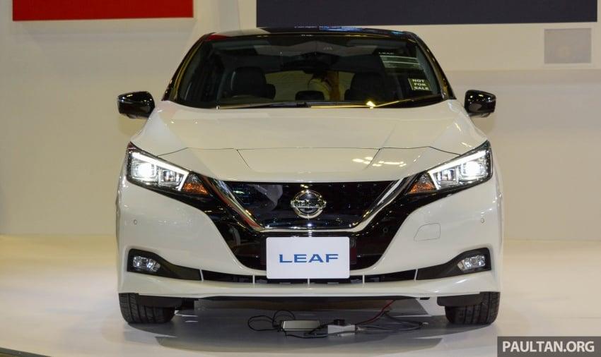 GALERI: Nissan Leaf 2018 dipamerkan di Singapura Image #762130