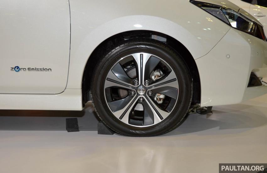 GALERI: Nissan Leaf 2018 dipamerkan di Singapura Image #762133