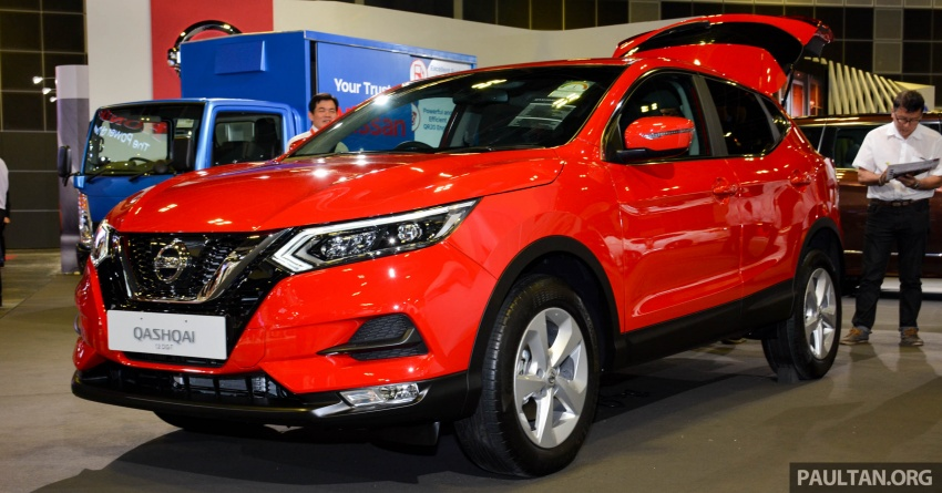 GALLERY: Nissan X-Trail and Qashqai facelifts in SG Image #762313