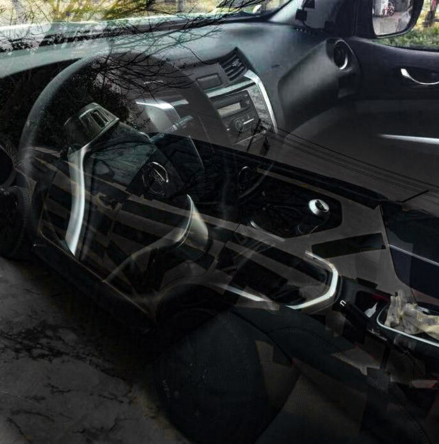 Nissan Terra interior revealed before official debut Image #755895