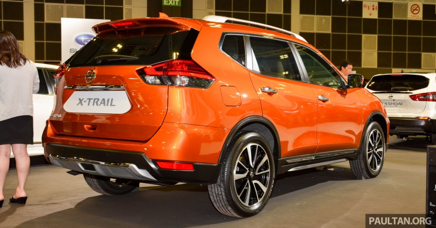 GALLERY: Nissan X-Trail and Qashqai facelifts in SG Image #762279