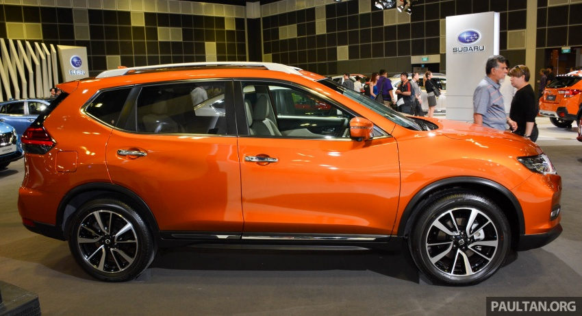 GALLERY: Nissan X-Trail and Qashqai facelifts in SG Image #762282