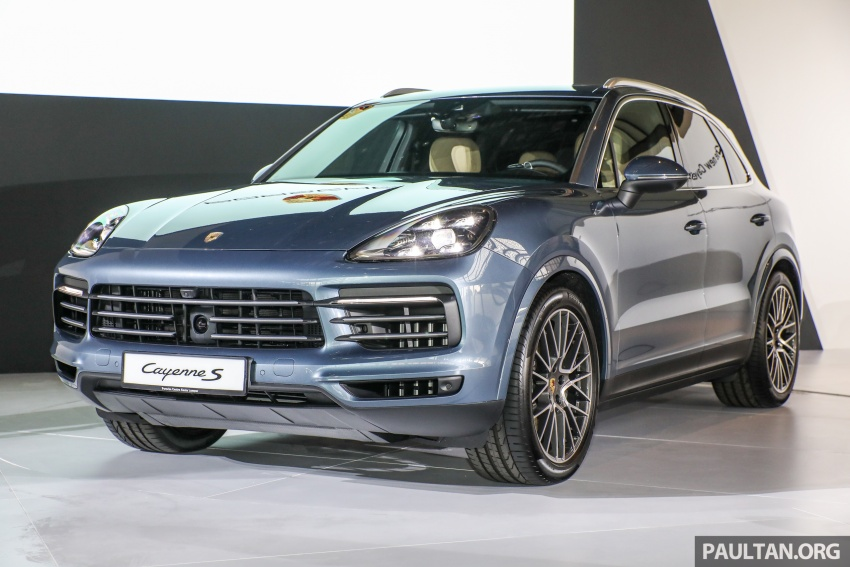 2018 Porsche Cayenne officially previewed in Malaysia Image #771051