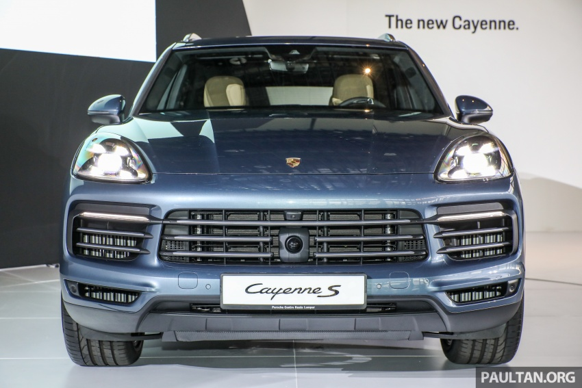 2018 Porsche Cayenne officially previewed in Malaysia Image #771052