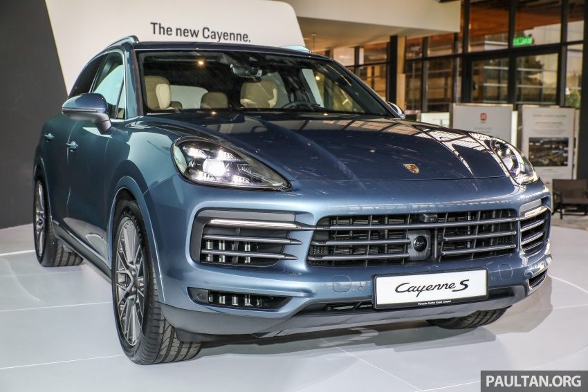 2018 Porsche Cayenne officially previewed in Malaysia Image #771053