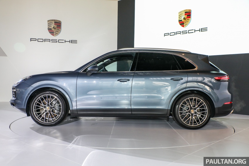 2018 Porsche Cayenne officially previewed in Malaysia Image #771054