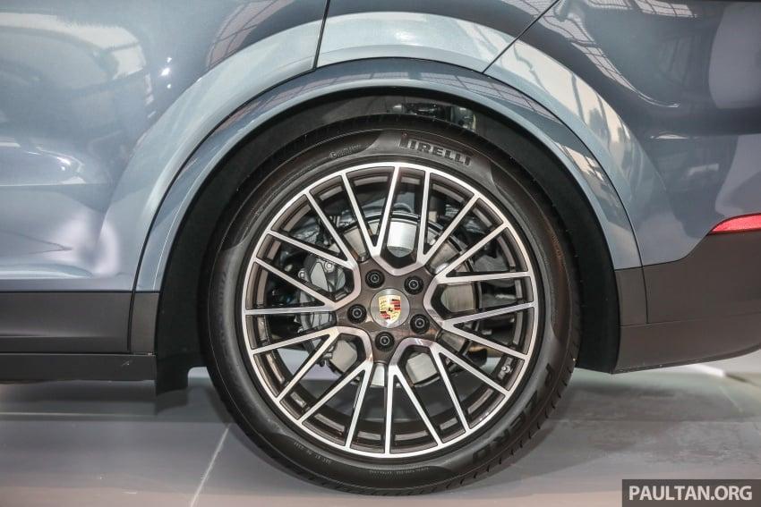 Porsche Cayenne 2018 dipertontonkan di Malaysia Image #771136