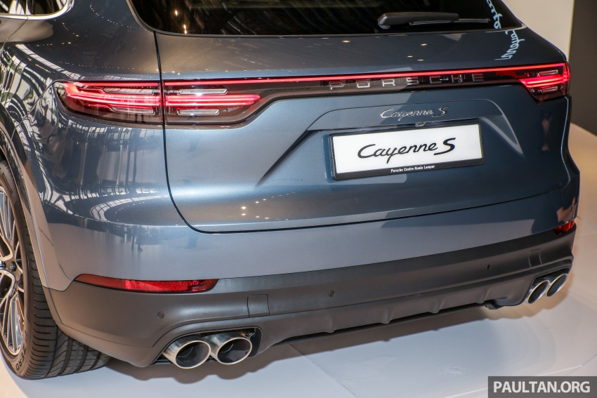 2018 Porsche Cayenne officially previewed in Malaysia Image #771210