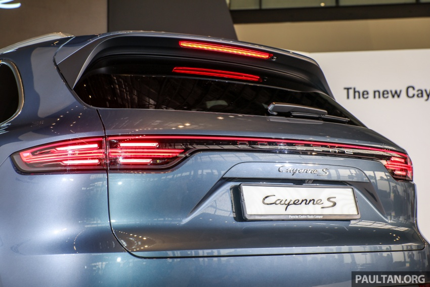 2018 Porsche Cayenne officially previewed in Malaysia Image #771213
