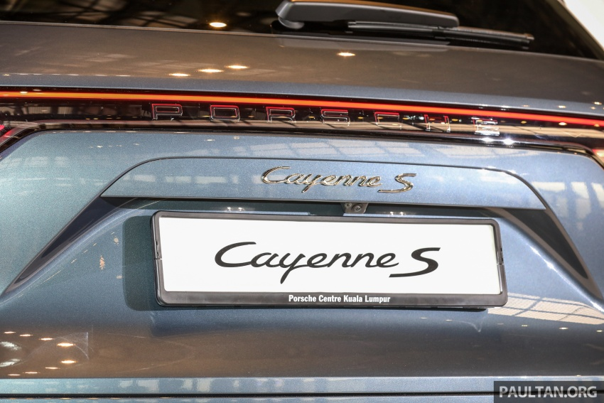 2018 Porsche Cayenne officially previewed in Malaysia Image #771215