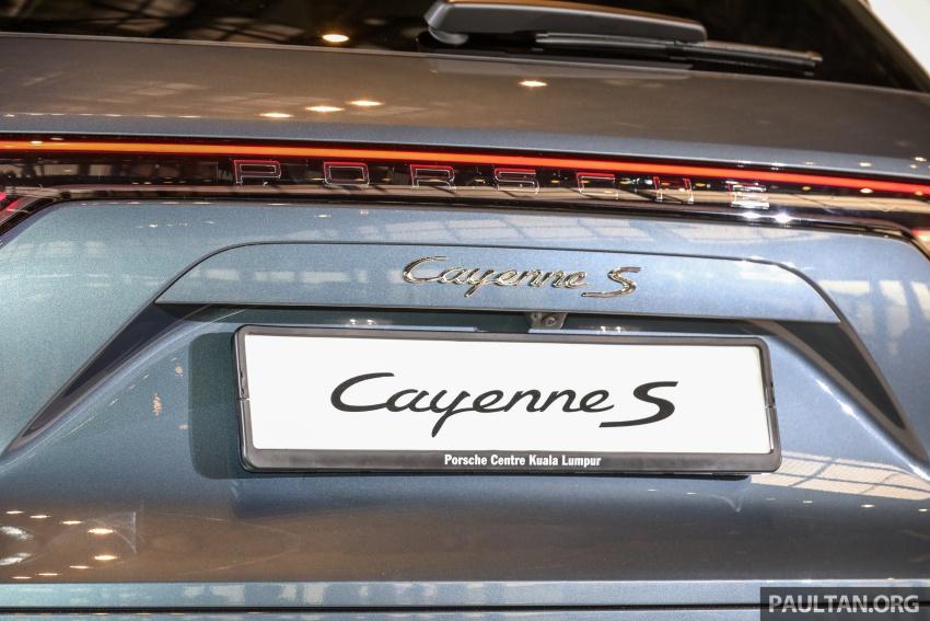 Porsche Cayenne 2018 dipertontonkan di Malaysia Image #771142