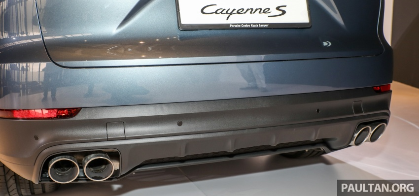 2018 Porsche Cayenne officially previewed in Malaysia Image #771216