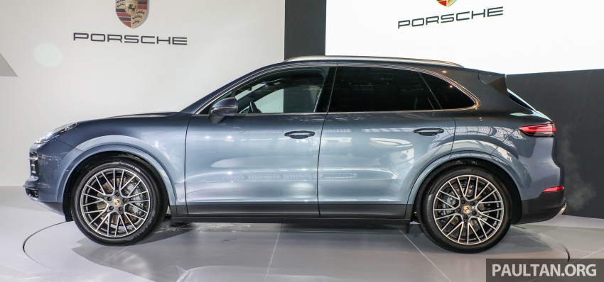 2018 Porsche Cayenne officially previewed in Malaysia Image #771192