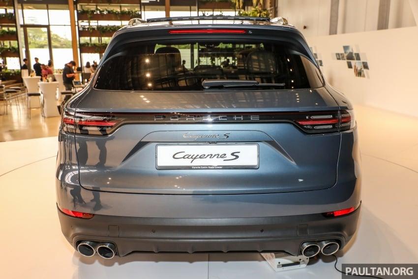 Porsche Cayenne 2018 dipertontonkan di Malaysia Image #771122