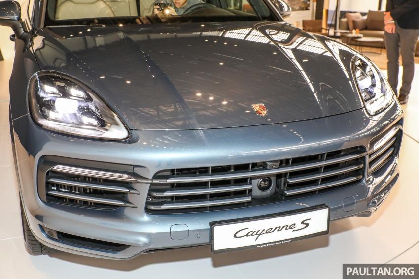 Porsche Cayenne 2018 dipertontonkan di Malaysia Image #771123