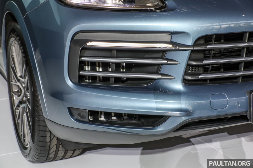 2018 Porsche Cayenne officially previewed in Malaysia Image #771199