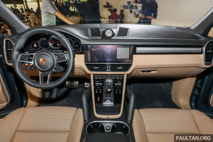 2018 Porsche Cayenne officially previewed in Malaysia Image #771221