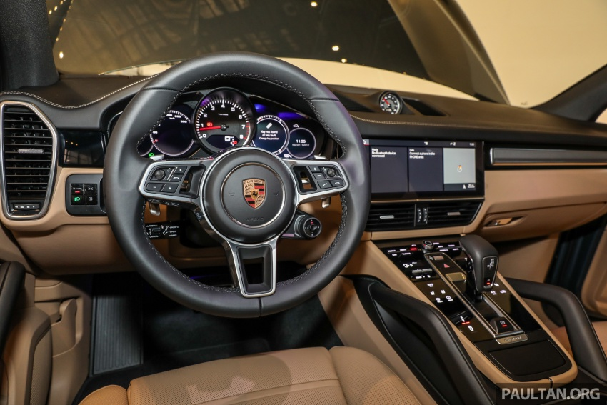 2018 Porsche Cayenne officially previewed in Malaysia Image #771241