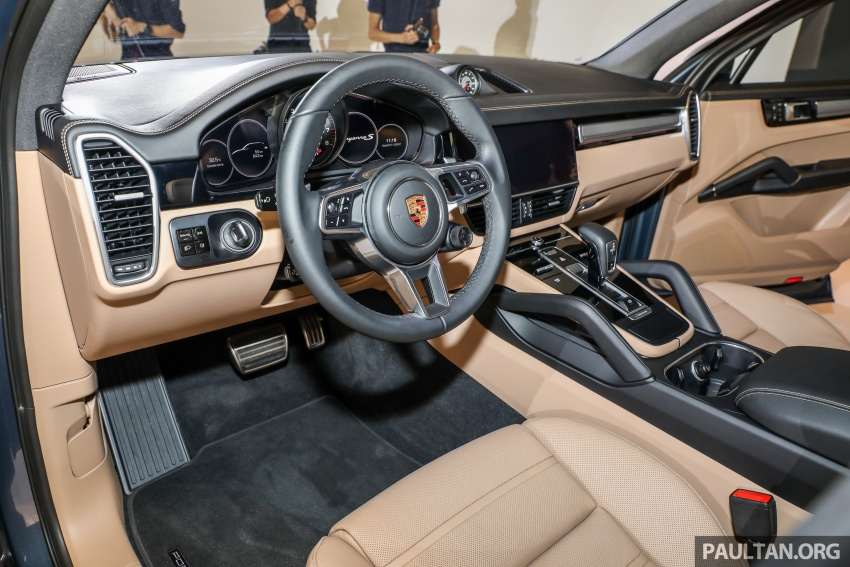 2018 Porsche Cayenne officially previewed in Malaysia Image #771222
