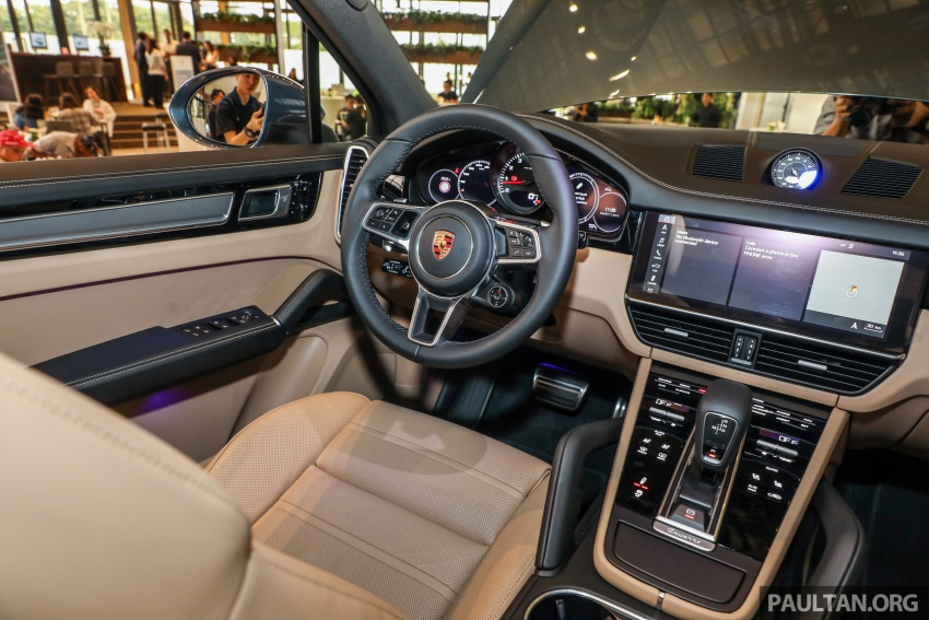 2018 Porsche Cayenne officially previewed in Malaysia Image #771242