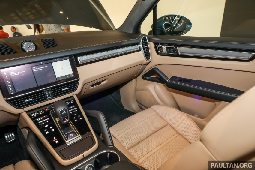 2018 Porsche Cayenne officially previewed in Malaysia Image #771243