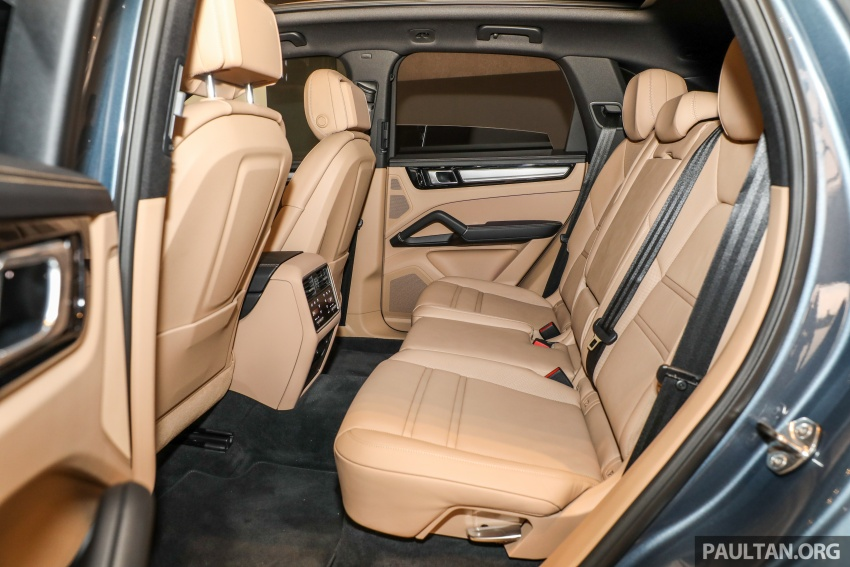 2018 Porsche Cayenne officially previewed in Malaysia Image #771250