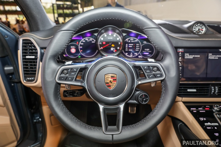 2018 Porsche Cayenne officially previewed in Malaysia Image #771223