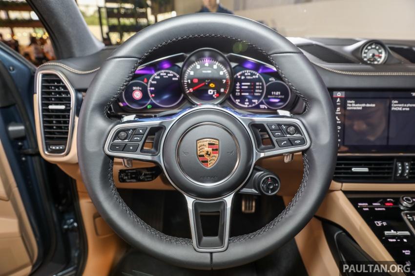 Porsche Cayenne 2018 dipertontonkan di Malaysia Image #771150
