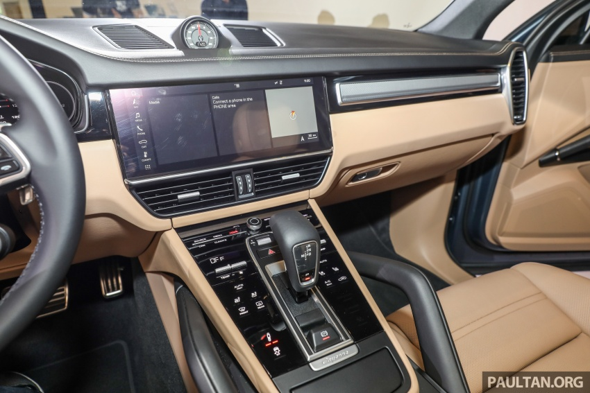 2018 Porsche Cayenne officially previewed in Malaysia Image #771228