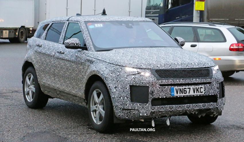 SPIED: Next-gen Range Rover Evoque seen testing Image #771917