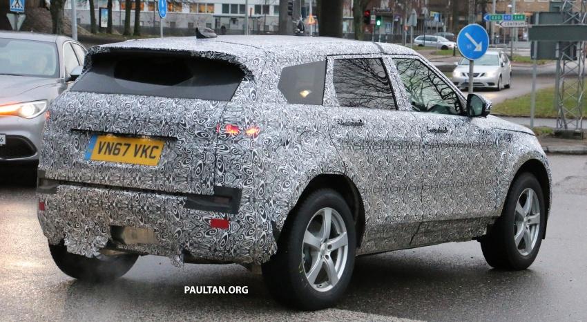 SPIED: Next-gen Range Rover Evoque seen testing Image #771927