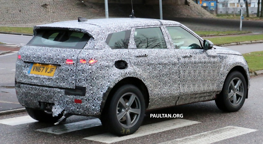 SPIED: Next-gen Range Rover Evoque seen testing Image #771932