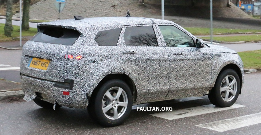 SPIED: Next-gen Range Rover Evoque seen testing Image #771925