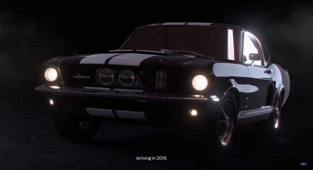 Ford siar teaser Shelby Mustang GT500 dengan 700 hp ...