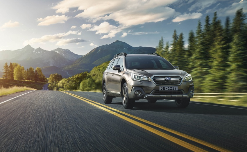 Subaru Outback facelift, XV 2.0 launched in Singapore Image #759648