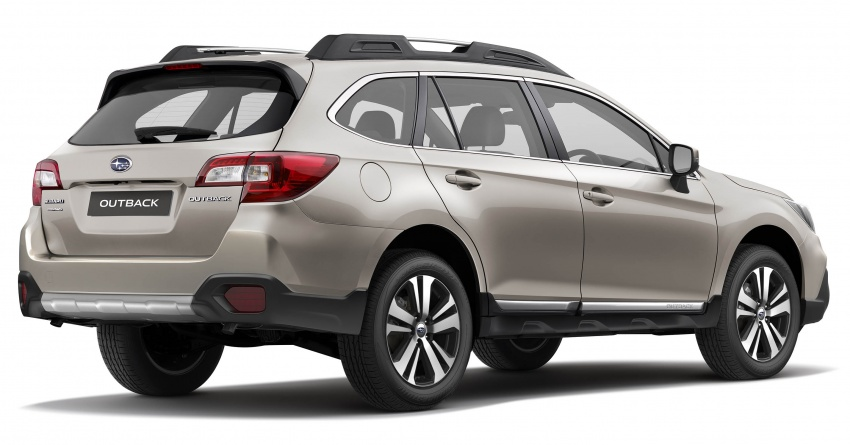 Subaru Outback facelift, XV 2.0 launched in Singapore Image #759650