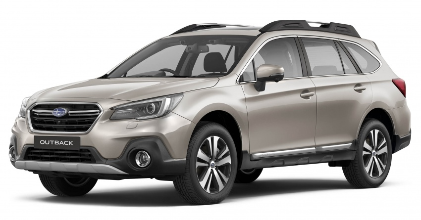 Subaru Outback facelift, XV 2.0 launched in Singapore Image #759651