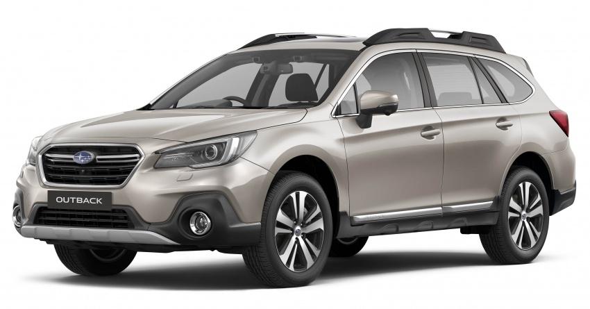 Subaru Outback <em>facelift</em> dan XV 2.0 liter dilancarkan di Singapura – penampilan sulung EyeSight di ASEAN Image #759845