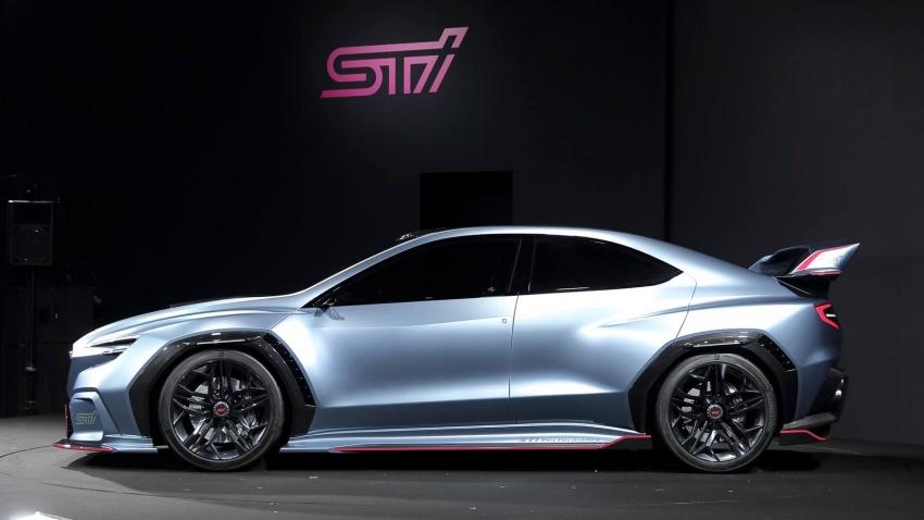 Subaru Viziv Performance STI Concept: next WRX STI? Image #762559