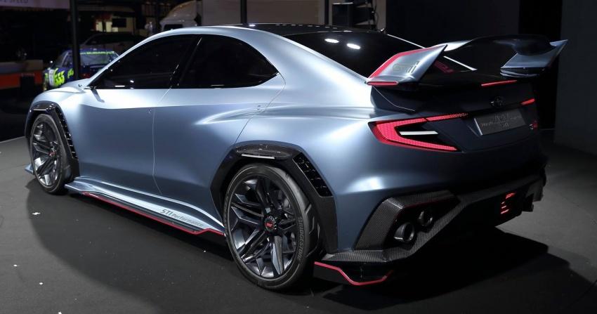 Subaru Viziv Performance STI Concept: next WRX STI? Image #762560