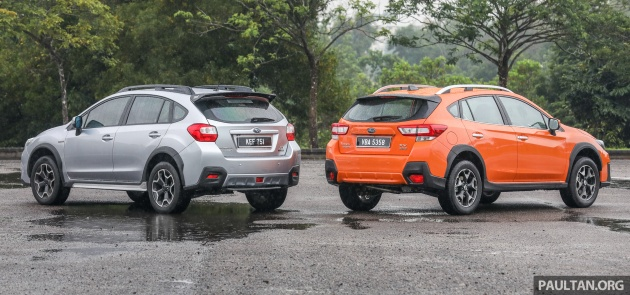Gallery 2018 Subaru Xv 2 0i P Vs Old 2015 Xv Sti