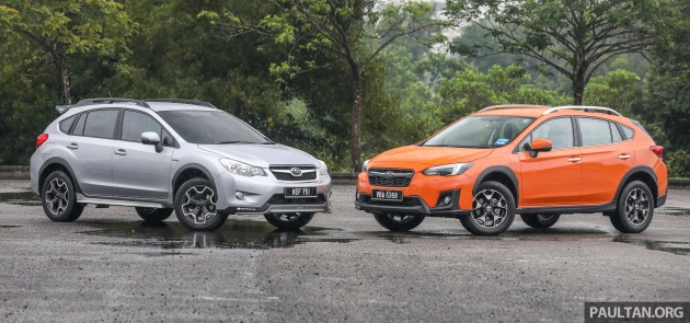 Gallery 2018 Subaru Xv 2 0i P Vs Old 2017 Sti