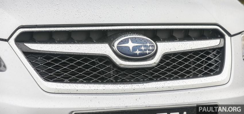 GALLERY: 2018 Subaru XV 2.0i-P vs old 2015 XV STI Image #771954
