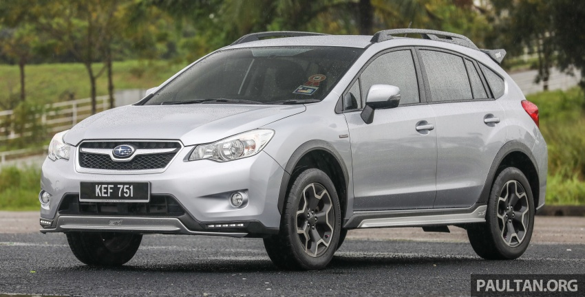GALLERY: 2018 Subaru XV 2.0i-P vs old 2015 XV STI Image #771938