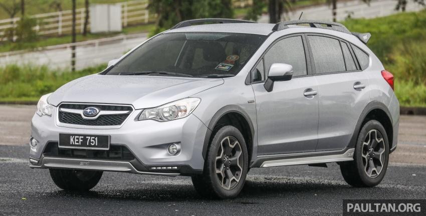 GALLERY: 2018 Subaru XV 2.0i-P vs old 2015 XV STI Image #771939