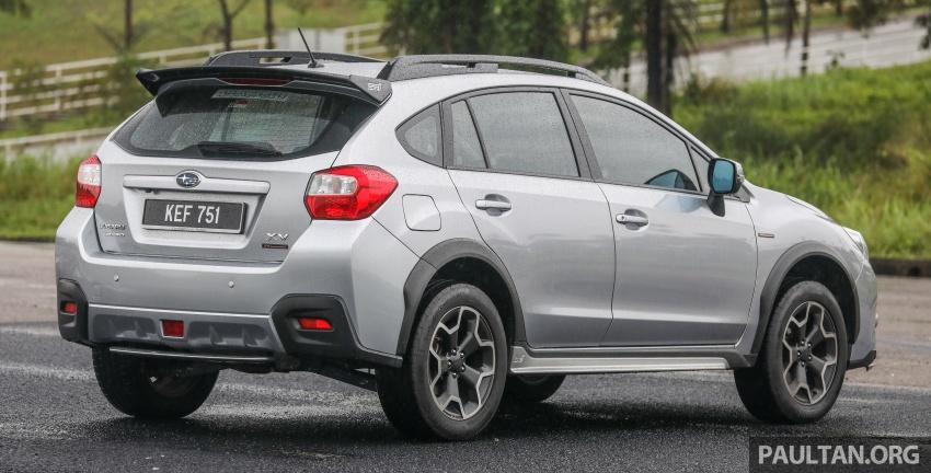 GALLERY: 2018 Subaru XV 2.0i-P vs old 2015 XV STI Image #771940