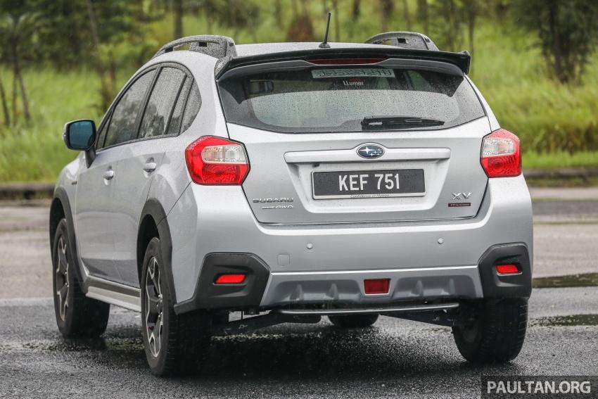 GALLERY: 2018 Subaru XV 2.0i-P vs old 2015 XV STI Image #771942
