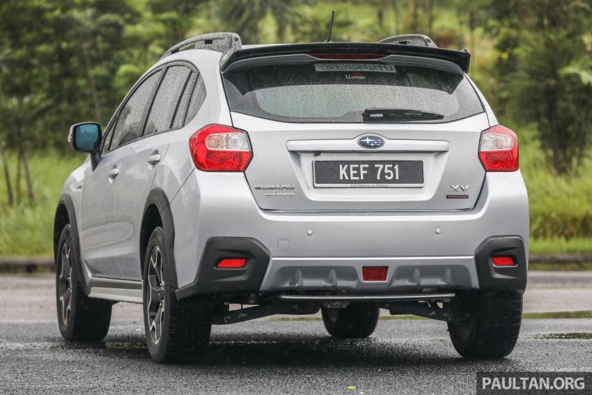 GALLERY: 2018 Subaru XV 2.0i-P vs old 2015 XV STI Image #771943