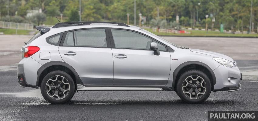 GALLERY: 2018 Subaru XV 2.0i-P vs old 2015 XV STI Image #771944
